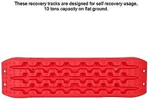 Tablero de recuperación, tableros de tracción Todoterreno Pistas de Nieve de Barro de Arena Escalera de neumáticos para Escalera de Nieve de Arena de Barro Herramienta de tracción de neumáticos: Amazon.es: Electrónica