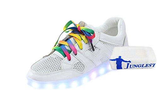 luz deportivo para Zapatos Toalla niñas Zapatos luminosos LED estilo USB Boy Emisión con para Zapatos Zapatos Calzado luz niños Big de Zapatos c5 niños pequeña para TETqO5wR