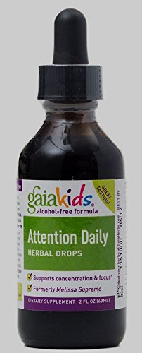 - Gaiakids Attention Daily Herbal Drops Gaia Herbs 2 oz Liquid