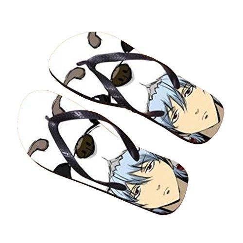 Bromeo Gintama Anime Unisex Flip Flops Chanclas 492