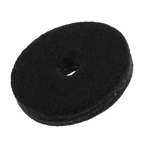 kness Cymbal Felt Hi Hat Washers Cushion Drum Kit Part ()
