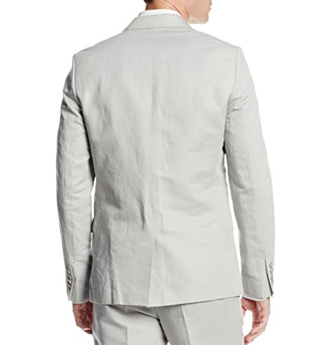 Calvin Klein Sportswear Men's Linen Cotton Herringbone Jacket