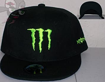 af4f3113ab5 Image Unavailable. Image not available for. Colour  Monster Energy Logo  Black Snapback Hat Cap