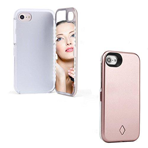 iPhone 6/6s Plus LED Selfie Lighting Makeup Case, USB Rechar