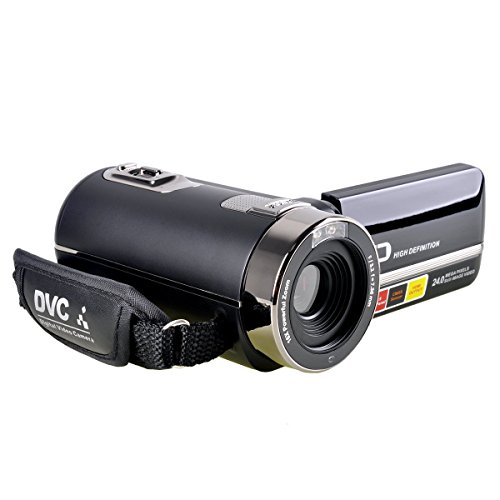 Webat WB301 HD 1080p camcorder 24.0 Mega pixels 16X Option Zoom 2.7 TFT LCD Rotation Touchscreen HDV Video Camcorder with IR Night Vision