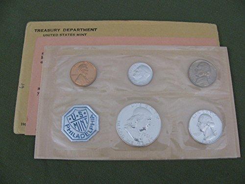 1957 US Proof Set 5-Coin Silver Proof Set PR US Mint ()