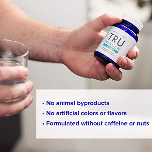 41vcHABfnUL - TRU NIAGEN Nicotinamide Riboside - Patented NAD Booster for Cellular Repair & Energy, Vitamin B3 Niacin NMN, 150mg Vegetarian Capsules, 300mg Per Serving, 60 Day Bottle