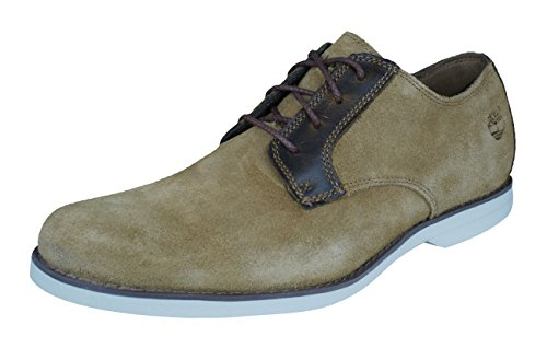 - Timberland Stormbuck Lite Oxford Mens Suede Shoes-Tan-7.5
