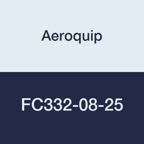 Aeroquip FC332 Series Low Pressure Socketless Hose, 250 psi, 1/2'' ID, 3/4'' OD, 25 feet Length