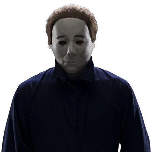 Deluxe Halloween 4 Michael Myers Mask Costume (Michael Myers Mask Halloween 4)