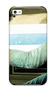 LJF phone case Cody Elizabeth Weaver iphone 4/4s Well-designed Hard Case Cover A Boy In White In A White Car Protector
