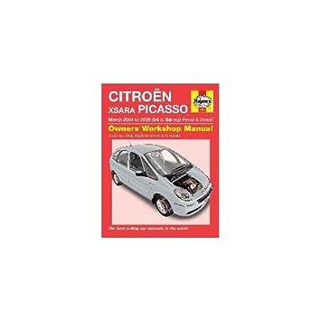 haynes manual citro n xsara picasso petrol diesel march 2004 rh amazon co uk Interior Citroen Xsara Picasso Interior Citroen Xsara Picasso