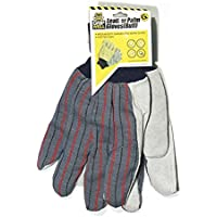 Gripwell Leather Palm Buff Stripe Back Glove