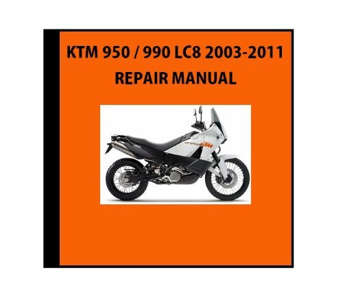 Ktm 990 - 8