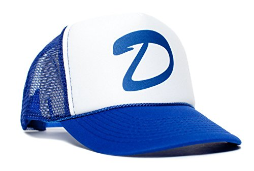 Clementines dead zombies game brooklyn Mesh Trucker Unisex Cap Hat (Royal/White) - The Walking Dead Hats