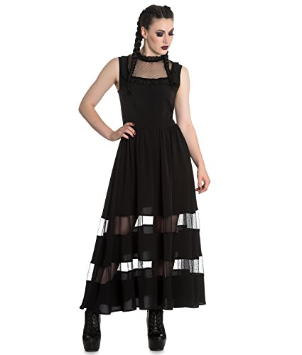 Spin Doctor Bellatrix Maxi Solution De Rechange Longue Robe Gothique Noir