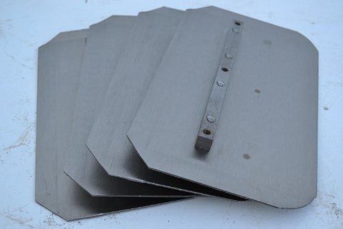 Set of 4 Power Trowel Combo Blades Fits: Allen Whiteman Bartell Wacker 8