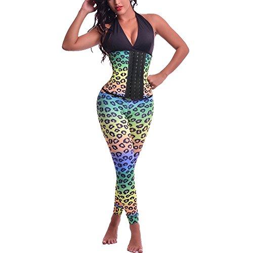 ALICE-X&S - Corsé - para mujer leopardo