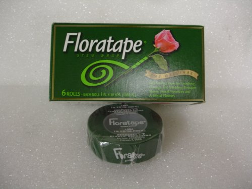 90ft Green Floral Tape Roll product image