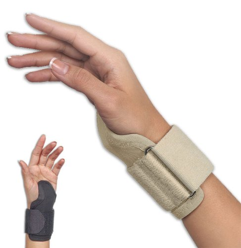 Orthopedic Carpal Tunnel Wrist Support Brace, Carpal Mate by FLA Black