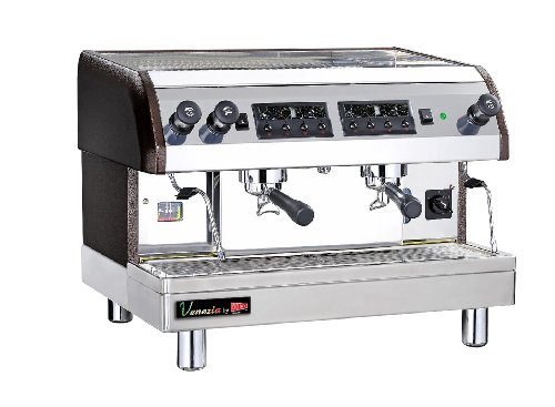 Grindmaster-Cecilware ESP2-220V Venezia II Single or Double Espresso Machine
