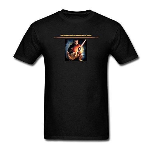 Kittyer Men's Star Wars The Old Republic Design Cotton T Shirt S (Star Wars The Old Republic Free)