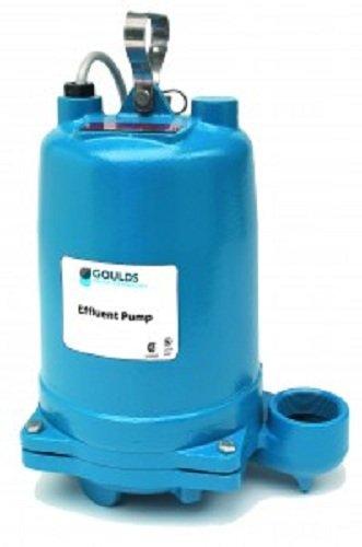 GOULDS-Pumps-WE2012H-Submersible-Effluent-Pump-2-Hp-230V-Blue