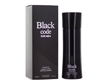 bebdf0cc3e Amazon.com : Black Code for Men 3.0 Ounces Eau de Toilette Spray : Beauty