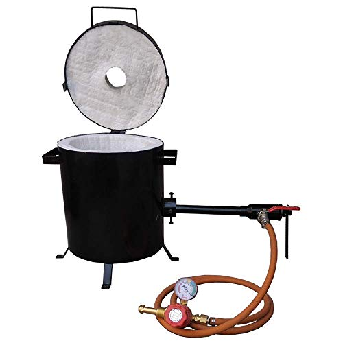 10 Kg Propane Melting Furnace Precious Metal Melting Gold Silver Copper Brass Bronze Light Duty Forge