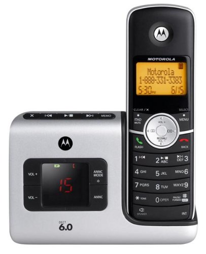 L401 DECT 6.0 Digital Cordless Phones with Answering System