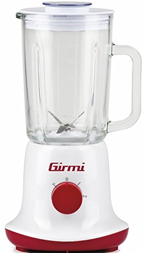 Girmi FR2500 Batidora de vaso 1L 350W Rojo, Color blanco ...