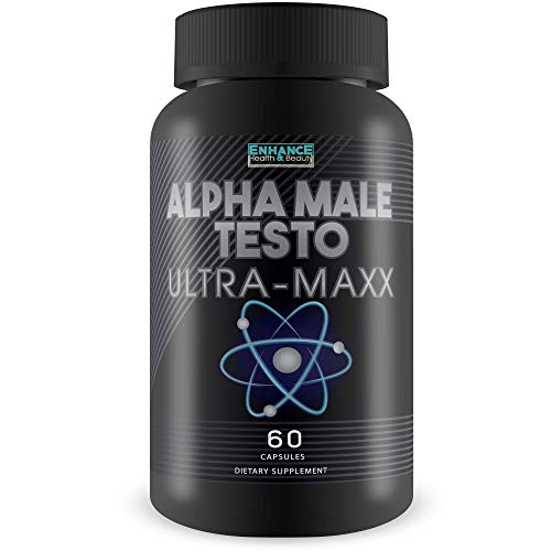 Alpha Male Testo Ultra Maxx - Male Testo Boost & Core Performance Blend - Trt for Men - X Male Pills Male Fertility Blend - Release Your Inner Beast and Enhance Alpha Male core Performance.