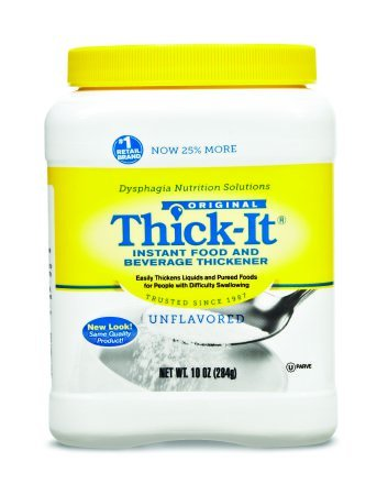 Thick-It Food and Beverage Thickener 10 oz. Canister Unflavored Ready to Use Consistency Varies by Preparation, J584-H5800 – Case of 12