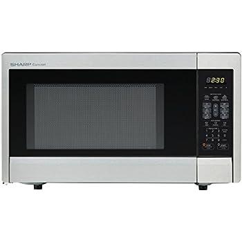 Amazon Com Sharp Countertop Microwave Oven Zr331zs 1 1 Cu