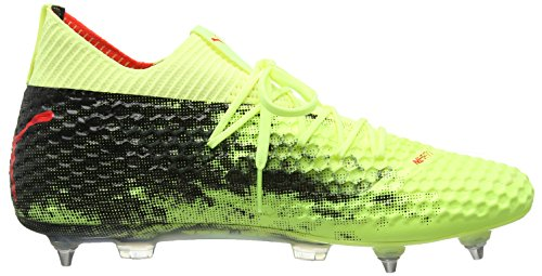Pour Rouge Netfit Homme De Mx Chaussures Football Puma Noir Jaune Sg OTUYzTq