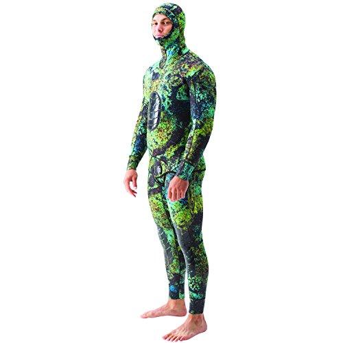 Riffe Digi-Tek Camo 3.5mm 2-Piece Wetsuit - #54/Lg