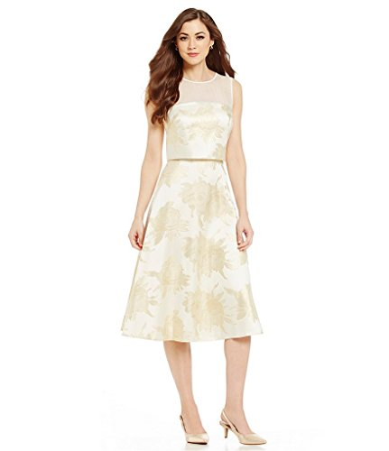 2fc1dcaf9b5 Antonio Melani Chelsea Floral Fit-and-Flare Sleeveless Popover Jacquard  Dress 6 from Antonio