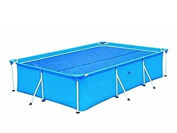 Solar Lona 732 x 366 Frame Pool térmica lona Pool lona solarab cobertura rectángulo