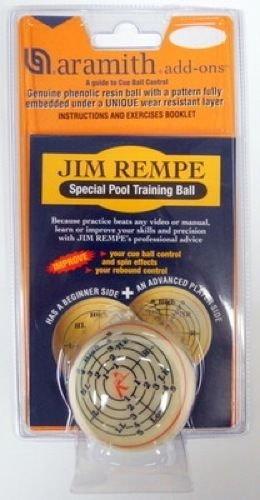 Aramith Jim Rempe Training Cue Pool Billiard Ball