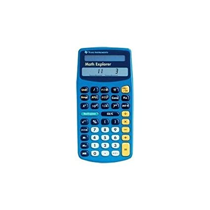 Amazon.com : Texas Instruments Math Explorer Calculator : Scientific ...