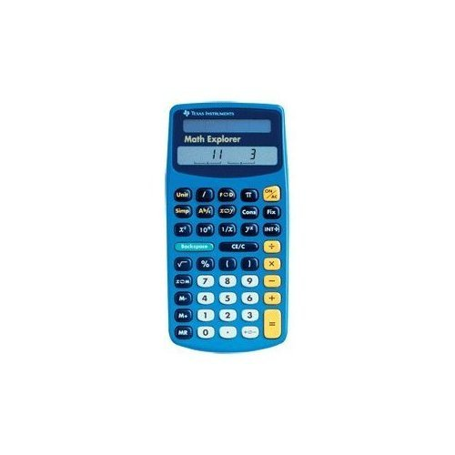Math Explorer - Texas Instruments Math Explorer Calculator