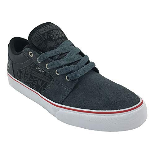 Barge Shoes Low Metal X Etnies Mulisha Gray Top Ls Men's 039 Sneaker qCBZwng6