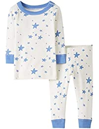 Baby/Toddler Boys' and Girls' 2 Piece Long Sleeve Pajama Set