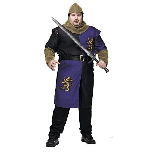 Renaissance Knight Adult Costume - Plus Size -