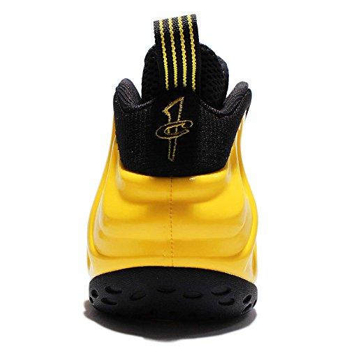 Nike Foamposite Air One Mens Hi Formatori Top Basket 314966 Scarpe Da Tennis (us 7.5, Opti Nero Giallo 701)