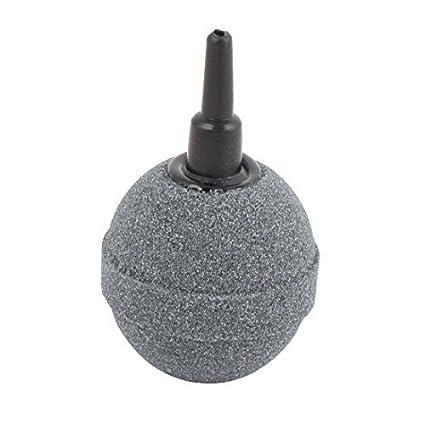 eDealMax acuario bola hidroponía en Forma de burbuja aireador de pecera Bomba del estanque de Disco