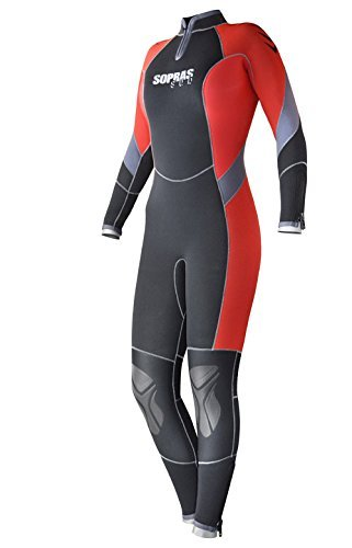 SOPRAS SUB 7MM SEMI-DRY ''ANTIBES'' WOMANS S - 3 WETSUIT SCUBA DIVING COLD WATER by Sopras