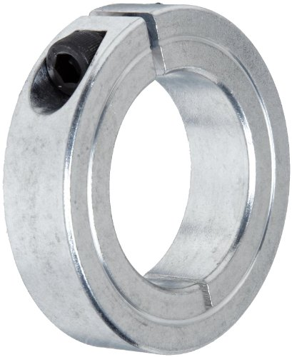 Climax Metal 1C-137-A Aluminum One-Piece Clamping Collar, 1-3/8