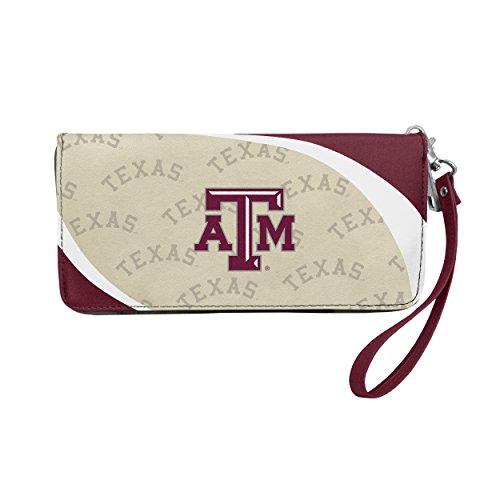 Aggies Purse - NCAA Texas A&M Aggies Curve Zip Organizer Wallet