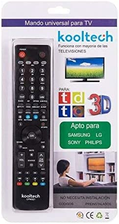 Vavci - Mando para TV Kooltech Universal 4 EN 1 para LG Samsung ...